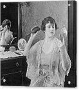 Bedroom Scene, 1920s Acrylic Print