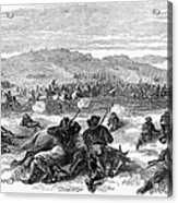 Beecher Island, 1868 Acrylic Print