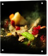 Beef With Vegetables Acrylic Print