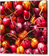 Beets At A Farmer's Market, Boulder, Colorado Acrylic Print