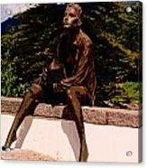 Beggar Gil In Monchique Acrylic Print