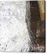 Behind Bridal Veil Falls In Dupont State Park Nc Acrylic Print