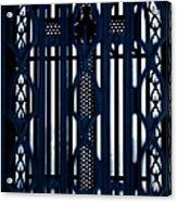Behind The Cross Acrylic Print