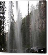 Behind The Falls2 Acrylic Print