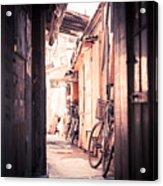 Beijing Hu Tong Alleys Acrylic Print