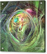 Being Bold - Abstract Art Acrylic Print