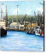 Belford Fishing Seaport Nj Acrylic Print