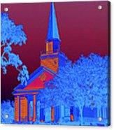 Belin Memorial Umc Sabattier Acrylic Print