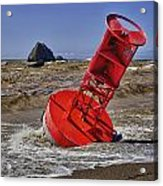 Bell Buoy Acrylic Print by Garry Gay