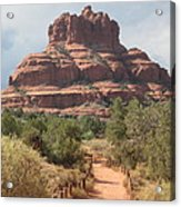 Bell Rock In Sedona Acrylic Print