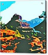 Bell Rock Sedona Arizona Acrylic Print