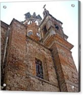 Bell Tower Of Our Lady Of Guadalupe Acrylic Print