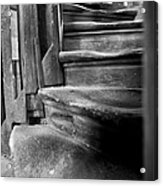 Bell Tower Steps1 Acrylic Print by John  Bartosik