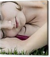 Bella Sleeps Acrylic Print