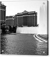 Bellagio Fountains Acrylic Print