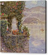 Bellagio From Tremezzo Acrylic Print