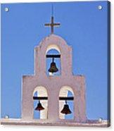 Bells Of San Xavier Acrylic Print