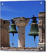 Bells Of Santorini Greece Acrylic Print