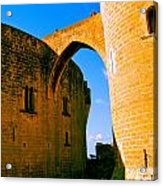Bellver Castle Mallorca Acrylic Print