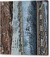 Below Hoover Dam Acrylic Print