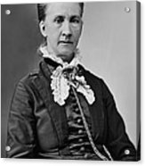 Belva Lockwood 1830-1917, Was A Lawyer Acrylic Print