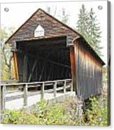 Bement Covered Bridge Acrylic Print