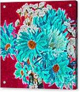 Beneath The Bouquet Acrylic Print