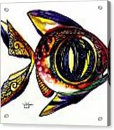 Benedict The Sixteenth Fish Acrylic Print
