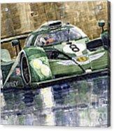 Bentley Prototype Exp Speed 8 Le Mans Racer Car 2001 Acrylic Print by Yuriy  Shevchuk