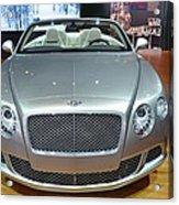 Bentley Starting Price Just Below 200 000 Acrylic Print