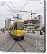 Berlin Alexanderplatz Square Acrylic Print