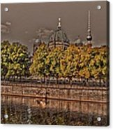 Berlin Cathedral ... Acrylic Print by Juergen Weiss