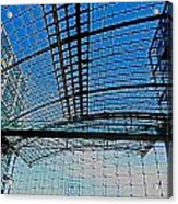 Berlin Central Station ...  Acrylic Print by Juergen Weiss