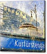 Berlin Composing Acrylic Print