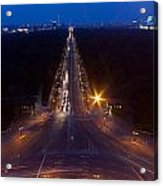 Berlin From The Siegessaule  Acrylic Print by Mike Reid