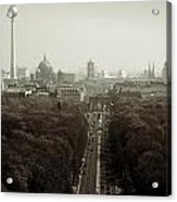 Berlin From The Victory Column Acrylic Print