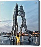 Berlin - Molecule Man  Acrylic Print