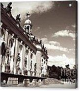 Berlin - Sanssouci Palace Acrylic Print