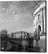 Berlin Scene Acrylic Print