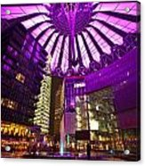 Berlin Sony Center Acrylic Print