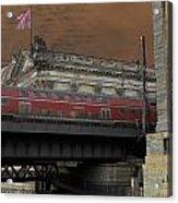 Berlin Train Acrylic Print