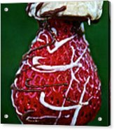 Berry Banana Kabob Acrylic Print by Susan Herber