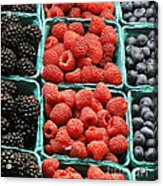 Berry Baskets Acrylic Print