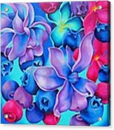Berry Lilac Acrylic Print