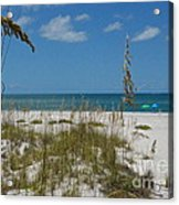 Best Beach Day Ever Acrylic Print