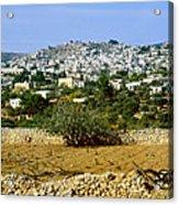 Bethlehem Birthplace Of Jesus Acrylic Print
