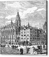 Bethnal Green Market, 1869 Acrylic Print by Granger