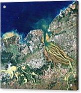 Betsiboka Estuary, Madagascar Acrylic Print