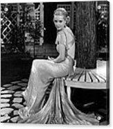 Bette Davis In The 1930s Acrylic Print by Everett