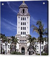 Beverly Hills Spanish Renaissance City Acrylic Print by Everett
